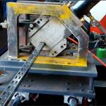 冲孔U型槽冷弯成型机冷弯机视频