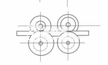 冷弯成型机轧辊道次间距设计
