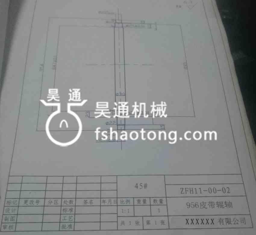 冷弯成型机轧辊安装图