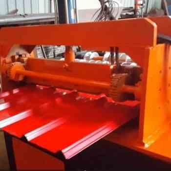 出口澳洲840彩钢瓦冷弯成型机视频参考