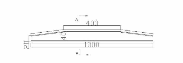 (a)实验板材轮廓俯视图