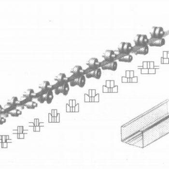 冷弯成型模具设计过程。